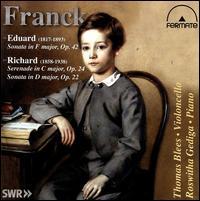 Eduard and Richard Franck: Music for Violin and Piano - Thomas Blees (cello)