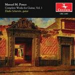 Manuel M. Ponce: Complete Works for Guitar, Vol. 1