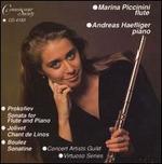 Prokofiev: Sonata for Flute & Piano; Jolivet: Chant de Linos; Boulez: Sonatine