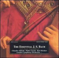 The Essential J.S. Bach - Accademia Dei Solinghi; Antonio Ballista (harpsichord); Bruno Canino (harpsichord); Claudio Abbado (harpsichord);...