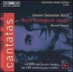 Bach: Cantatas, Vol. 16 - BWV 119 & 194