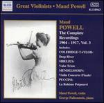 Maud Powell: the Complete Recordings 1904-17, Vol. 3
