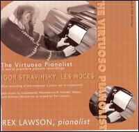 The Virtuoso Pianolist - Rex Lawson (player piano)