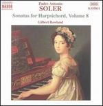 Padre Antonio Soler: Sonatas for Harpsichord, Vol. 8