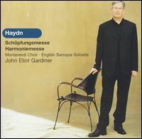 Haydn: Sch�pfungsmesse - Andrew Busher (tenor); Bernarda Fink (alto); Brindley Sherratt (bass); Christoph Pr�gardien (tenor); David Watkin (cello);...