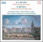 Benda: Viola & Violin Concertos