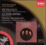 Dutilleux: Cello Concerto, Lutoslawski: Cello Concerto