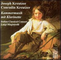 Joseph Kreutzer, Conradin Kreutzer: Kammermusik mit Klarinette - Italian Classical Consort; Luigi Magistrelli (conductor)