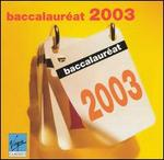 BaccalaurTat 2003