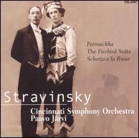 Stravinsky: Petrouchka; The Firebird Suite; Scherzo � la Russe - Michael Chertock (piano); Cincinnati Symphony Orchestra; Paavo J�rvi (conductor)