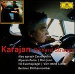 R. Strauss: Zarathustra; Don Juan; 4 Last Songs, etc. - Anna Tomowa-Sintow (soprano); David Bell (organ); Michel SchwalbT (violin); Berlin Philharmonic Orchestra; Herbert von Karajan (conductor)