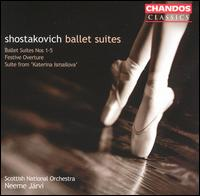 Shostakovich: Ballet Suites - John Gracie (trumpet); Timothy Walden (cello); Scottish National Orchestra; Neeme J�rvi (conductor)