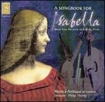 Song Book for Isabella