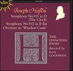 "Joseph Haydn: Symphony No. 101 (The Clock); Symphony No. 102; Overture to ""Windsor Castle"""
