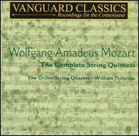 Mozart: The Complete String Quintets - Griller String Quartet; William Primrose (viola)