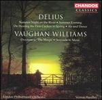 """Delius: Summer Night on the River; Vaughan Williams: Overture to """"The Wasps"""""""
