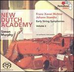 Franz Xaver Richter, Johann Stamitz: Early String Symphonies, Vol. 2