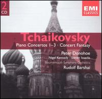 Tchaikovsky: Piano Concertos 1-3; Concert Fantasy - Nigel Kennedy (violin); Peter Donohoe (piano); Steven Isserlis (cello); Bournemouth Symphony Orchestra;...