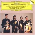 Jan�cek: Streichquartette Nos. 1 & 2; Wolf: Italienische Serenade
