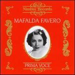 Mafalda Favero-Recordings From 1929-1946