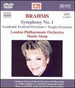 Brahms: Symphony No. 1; Academic Festival Overture; Tragic Overture [DVD Audio]