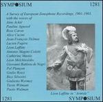 A Survey of European Zonophone Recordings, 1901-1903