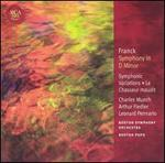Franck: Symphony in D Minor / Symphonic Variations / Le Chasseur Maudit