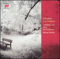 Schubert: Impromptus; Schubert/Liszt: Song Transcriptions - Murray Perahia (piano)