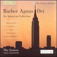Barber: Agnus Dei - An American Collection - Benedict Hoffnung (drums); Benedict Hoffnung (bells); Benedict Hoffnung (clapping); Caroline Trevor (alto);...