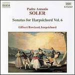 Soler: Sonatas for harpsichord Vol.6