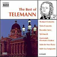 The Best of Telemann - American Baroque Ensemble; Capella Istropolitana; Drottningholm Baroque Ensemble; Jir� Stiv�n (recorder);...