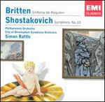Britten: Sinfonia da Requiem; Shostakovich: Symphony No. 10