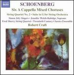 Arnold Schoenberg: Six A Cappella Mixed Choruses