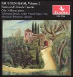 Paul Ben-Haim, Vol. 2: Piano and Chamber Works