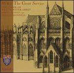 Byrd: the Great Service; Anthems; Voluntaries /the Choir of Westminster Abbey · O'Donnell