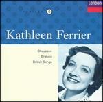 Kathleen Ferrier sings Chauson, Brahms, British Songs