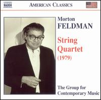 Feldman: String Quartet (1979) - The Group for Contemporary Music