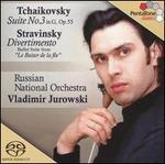 Tchaikovsky: Suite No. 3; Stravinsky: Divertimento