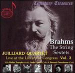 Brahms: The String Sextets, Vol. 3