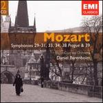 Mozart: Symphonies 29-31, 34,38 & 39