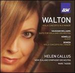 Helen Callus performs Walton, Vaughan Williams, Howells & Bowen