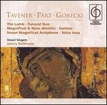 Jeremy Backhouse conducts Taverner, P�rt, and G�recki