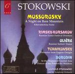 Mussorgsky: A Night on Bare Mountain; Rimsky-Korsakov: Russian Easter Festival Overture; etc.