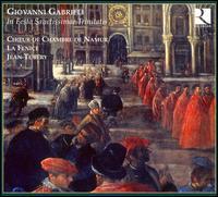 Giovanni Gabrieli: In Festo Sanctissimae Trinitatis - Ensemble la Fenice; Eric Mentzel (alto); Hans-J�rg Mammel (tenor); Rosa Dominguez (soprano); Stephan Van Dyck (tenor);...