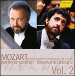 Mozart: Sonatas for piano & violin, KV 301, 306, 376, 526, Vol. 2