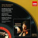 Korngold & Goldmark: Violin Concertos; Sinding: Suite in A minor