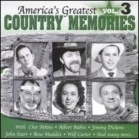 America's Greatest Country Memories, Vol. 3 - Various Artists