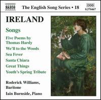 Ireland: Songs - Iain Burnside (piano); Roderick Williams (baritone)