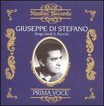 Prima Voce: Giuseppe di Stefano sings Verdi & Puccini