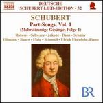 Schubert: Part-Songs, Vol. 1